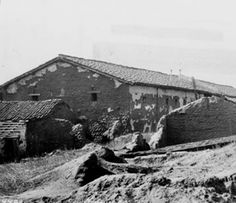 Ruins of the San Fernando Mission, c. 1880 founded on September 8, 1797, by Father Fermin Lasuen, who followed the footsteps of Father Junípero Serra. The San Fernando Mission was the seventeenth in a succession of twenty-one missions established in the state.