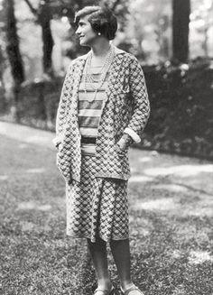 Portrait de Gabrielle Chanel, 1910-20, photographie française