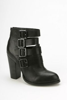 Gadget Buckled Ankle Boot #urbanoutfitters