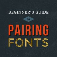 Great basic info on using fonts together effectively.