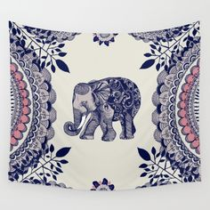 Buy Elephant Pink Wall Tapestry by rskinner1122. Worldwide shipping available at Society6.com. Just one of millions of high quality products available.