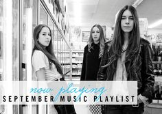 Now Playing: September Music Playlist