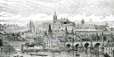 Prag, restaurierter Neudruck