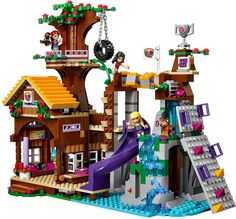 LEGO Friends 41122 - Adventure Camp Tree House | da www.giocovisione.com #lego #legofriends #legofriends2016