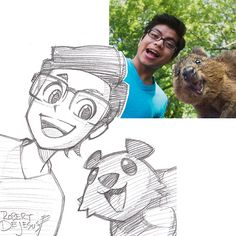This Artist Turns Strangers Into Anime Characters | Bored Panda