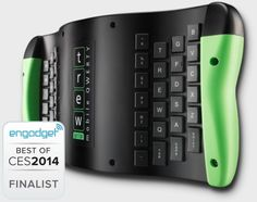 TREWGrip Patent Pending, bluetooth keyboard can connect to multiple devices and switch between them easily, maybe good for RSI?