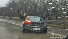 BMW i8 crash - read the story here:   http://www.4wheelsnews.com/bmw-i8-crashed-on-german-highway-by-30-year-old-man/