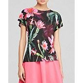 Ted Baker Blisse Chameleon Print Tee - Bloomingdale's Exclusive $75 http://www1.bloomingdales.com/shop/product/ted-baker-blisse-chameleon-print-tee-bloomingdales-exclusive?ID=1191714&CategoryID=2911&LinkType=prodrec_pdpza&RecProdZonePos=prodrec-1&RecProdZoneDesc=cqcmio1%7Ccmio50%7Cprodrec_pdpza%7Ccmio&choiceId=cidDE0011-17b00506-34e9-4ada-baa0-df58e0b8a83a@H9@CUSTOMERS%20ALSO%20VIEWED$$1191714