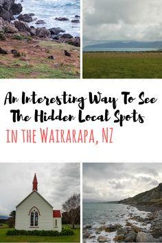 An interesting way to see the hidden local spots in the Wairarapa, NZ - Anita Hendrieka Travel Info, Travel Guides, Travel Tips, Travel Plan, Travel Articles, Travel Stuff, New Zealand Itinerary, New Zealand Travel, Top Travel Destinations