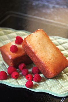 Deliciously Airy and Light - Almond Pound Cake.