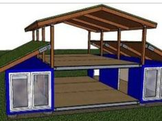 Home Art Studio Design Shipping Containers 35 Ideas Shipping Container Home Designs, Container House Design, Small House Design, Shipping Containers, Home Art Studios, Art Studio At Home, Building A Container Home, Container Buildings, Small House Plans