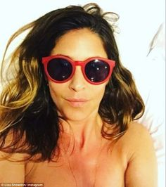 Sunny selfies: Taking some time off from her Captial FM duties to enjoy some R&R, the DJ, ...