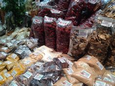 Getrocknete Tomaten, Steinpilze und Kräuter