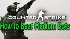 How To Beat Medium Bots #games #globaloffensive #CSGO #counterstrike #hltv #CS #steam #Valve #djswat #CS16