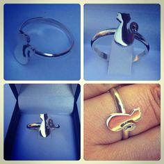 Anillo de plata, diseño #Gato #hechura #hechoamano / Silver Ring, #Cat Design #hechura #handmade