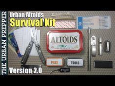 Altoid Tin Survival Kit DIY | Survival Life