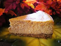 The Cheesecake Factory Pumpkin Cheesecake - copycat recipe.... if this tastes the same Josh and i will be baking a lot!