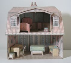Paper Model Dollhouse