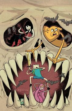Adventure Time by Sina Grace #sickness