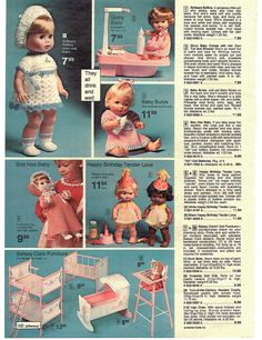 1977 ADVERTISEMENT Doll Thumbelina Rub-A-Dub Baby Alive Burps Tender Love Ginny in Collectibles, Advertising, Merchandise & Memorabilia | eBay