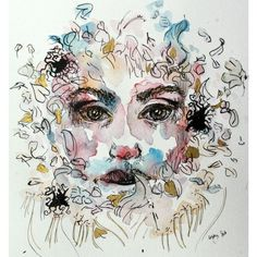 Image result for watercolor and ink