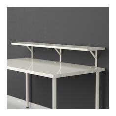 EKBY TÖRE Bracket for table top IKEA Gives you easily accessible storage that clears the work surface by mounting onto the table top.