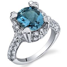 Royal Splendor 3.00 Carats London Blue Topaz Ring in Sterling Silver Rhodium Nickel Finish Size 8 Peora http://www.amazon.com/dp/B004VA6WZM/ref=cm_sw_r_pi_dp_h1r6ub1FGVA4Y