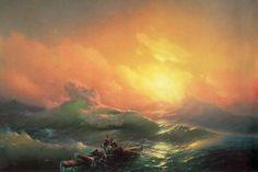 Айвазовский И. Девятый вал - 1850 год