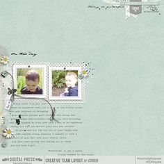 Today's daily dose of creative inspiration from The Digital Press was made by TDP creative team member Corrin, using products designed by Anita Designs. We are loving the way she chose to capture a small everyday moment/memory by using tiny design elements -- from the photos in small frames, to the dainty little scatters of embellishments, to the tiny typed journaling. <3 #TDPinspire #teamdigitalpress #digiscrap #digitalscrapbook #digitalscrapbooking #scrapbook #scrapbooking