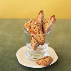 Almond and apricot biscotti - Healthy Recipes - Mayo Clinic --Would love to have this with some tea soon!