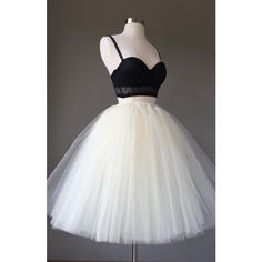 Light Ivory Tulle Skirt Adult Tutu 8 Layer Tulle Skirt Bridal Shower... ($55) ❤ liked on Polyvore