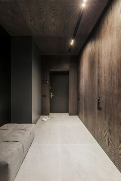 These are photos of the realized apartment in Kyiv Home Room Design, Loft Design, Deco Design, Küchen Design, Modern House Design, Modern Interior Design, Interior Design Living Room, Interior Architecture, Corridor Design