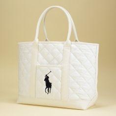 Quilted Diaper Bag & Mat Set - Layette Accessories - RalphLauren.com