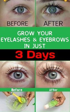 How to Grow Eyelashes and Eyebrows | How to Get Thick Eyebrows and Eyelashes