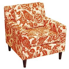 Accent chair.  LOVE the color.