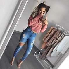 Women Jeans Outfit Latex Trousers Kanye West Clothing Long Tank Tops Casual Look For Women Mens Black Cargo Trousers Jeans And Heels Outfit – yuccarlily Teenage Outfits, Cute Teen Outfits, Cute Comfy Outfits, Cute Outfits For School, Teen Fashion Outfits, Jean Outfits, Trendy Outfits, Fall Outfits, Teenage Girl Clothes