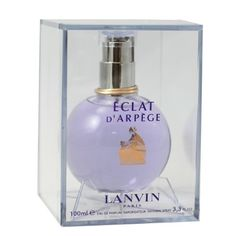 Lanvin Eclat D' Arpege By Lanvin For Women. Eau De Parfum Spray 3.3-Ounces by Lanvin. $41.27. This item is not for sale in Catalina Island. Packaging for this product may vary from that shown in the image above. In 1927, Jeanne Lanvin created Arpège, by love for her daughter Marguerite. Arpège a floral aldehyde who succeeded in crossing the century without losing its identity, remains today a legendary perfume. Inspiring itself with this tradition, Lanvin, in ass...