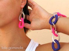 Lola Gominola: Complementos para todas!!! Bracelets, Jewelry, Fashion, Bonbon, Crochet Baby, Hipster Stuff, Jewels, Moda, Fashion Styles