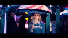 Dahyun is the member to have her individual video teaser for Twice's Feel Special revealed. Dahyun is seen walking with an umbrela and starring somewhere, probably at some paparazzi or fans with a camera like she Twice Mv, Twice Video, Mv Video, Just Video, Extended Play, Nayeon, K Pop, South Korean Girls, Korean Girl Groups