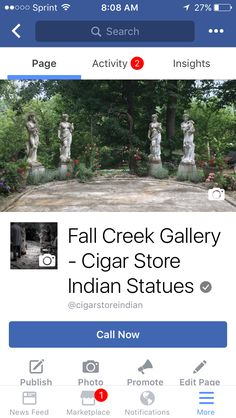 Fall Creek Gallery, largest producers of American carved Tobacconist figures. New tribe members filling the gallery daily. (317-493-8583) #cigarindian #cigars #cigar #realitytv #fallcreekgallery #cigarstorefigure #curator #gallery #art #artist #artgallery #cigarstoreindian #cigarstoreindianstatue #sotl #cigaraficionado #botl #sculpture #saburrtooth #chief #havana #cubancigars #aficionado #havanacigars #nightlygrind  #imakesawdust #risingtidesociety #punchcigars #Punch #punchstatue
