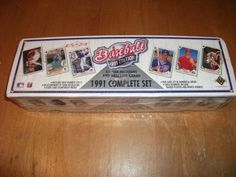 1991 Edition UPPER DECK(Collector's Choice) FACTORY SEALED SET 800 CARDS NM/MT