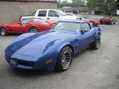 1982 Chevrolet Corvette ..
