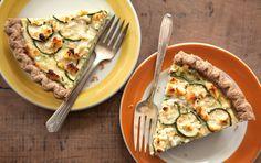 Zucchini and Feta Cheese Pie