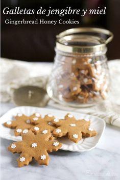 Galletas de jengibre y miel, aromas navideños | En Mi Cocina Hoy