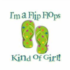 Flip Flop girl