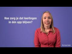 Handig: hoe zorg je er voor dat leerlingen (of kinderen thuis) binnen 1 app blijven?