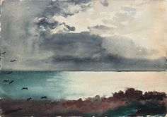 Winslow Homer Watercolors | ... homer seascape winslow homer featuring especially his watercolors of