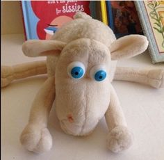 Vintage SERTA SHEEP #1 Plush Toy, Memorabilia Crazy Eyed Sheep   Collectibles, Advertising, Merchandise & Memorabilia   eBay!