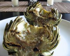 Grilled Artichokes - These sound great.  Love most anything grilled.