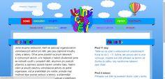 Webdesign pro Volný čas dětí (volnycasdeti.cz)